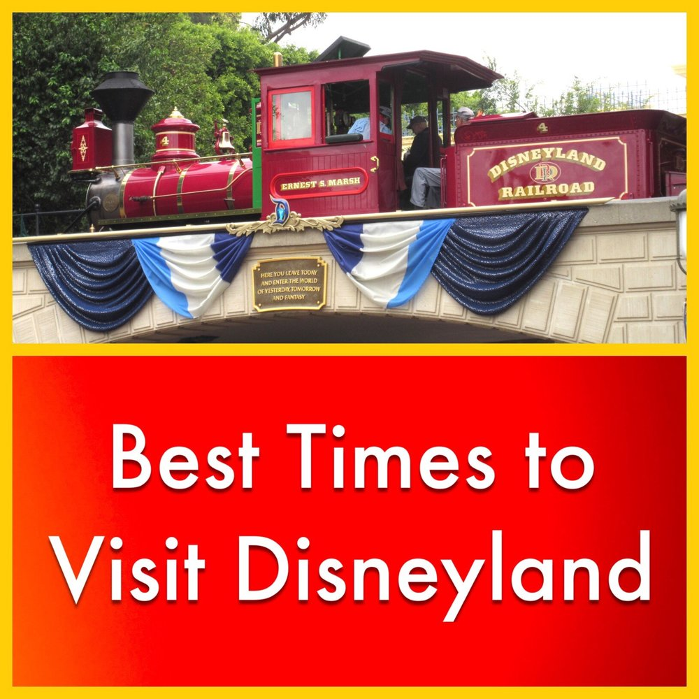 Best times to visit Disneyland - factors crowds, weather and special events.