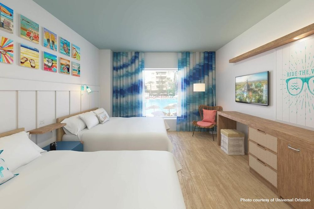 Universal's Endless Summer Resort - Surfside Inn and Suites Standard room Opening August 2019