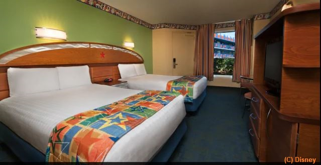 Standard Rooms at Disney's All-Star Music Resort / Walt Disney World