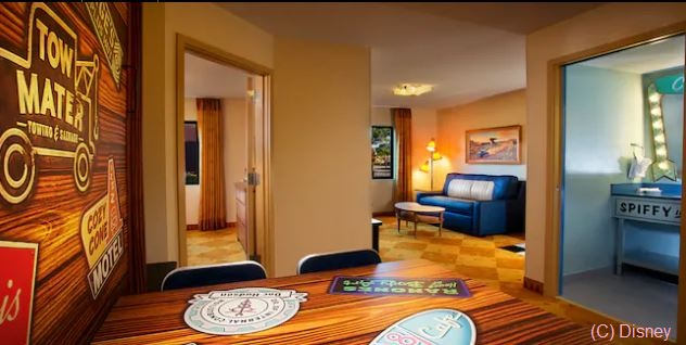 Disney's Art of Animation Resort - Cars Family Suite / Walt Disney World Resort