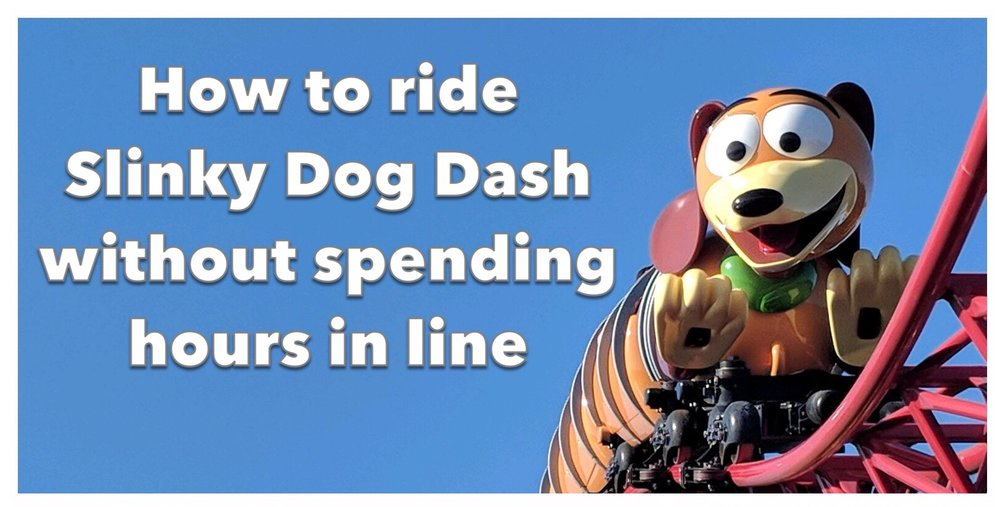 tips for riding slinky dog dash out spending hours in line