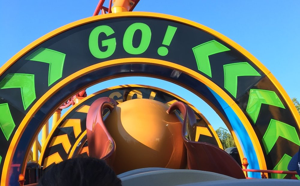Disney World Tips for Riding Slinky Dog Dash in Toy Story Land at Disney's Hollywood Studios