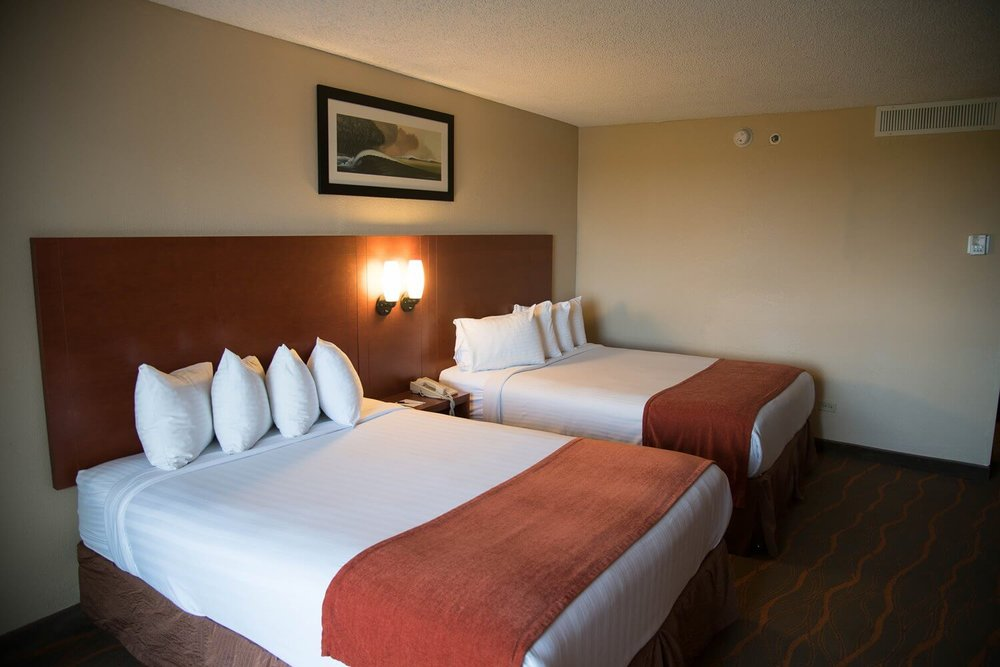 Best Western Lake Buena Vista Hotel - Disney Springs area: Room with 2 queen beds.