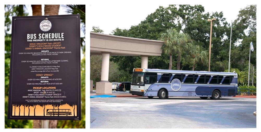 Excellent bus service to the Disney World theme parks and Disney Springs is just one of the great perks of staying at the B Resort & Spa Lake Buena Vista - Disney Springs hotel.