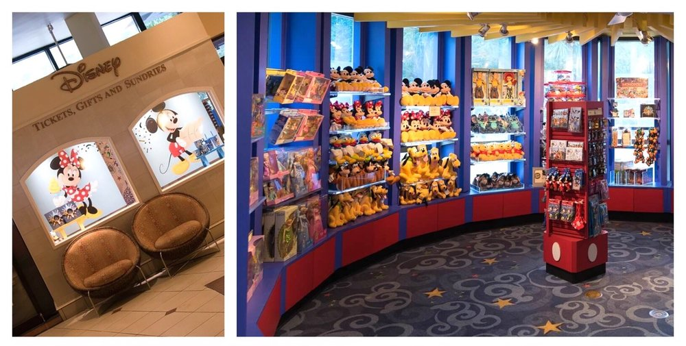 Disney Gifts and Sundries available in the lobby at Best Western Lake Buena Vista - Disney Springs Area hotel.