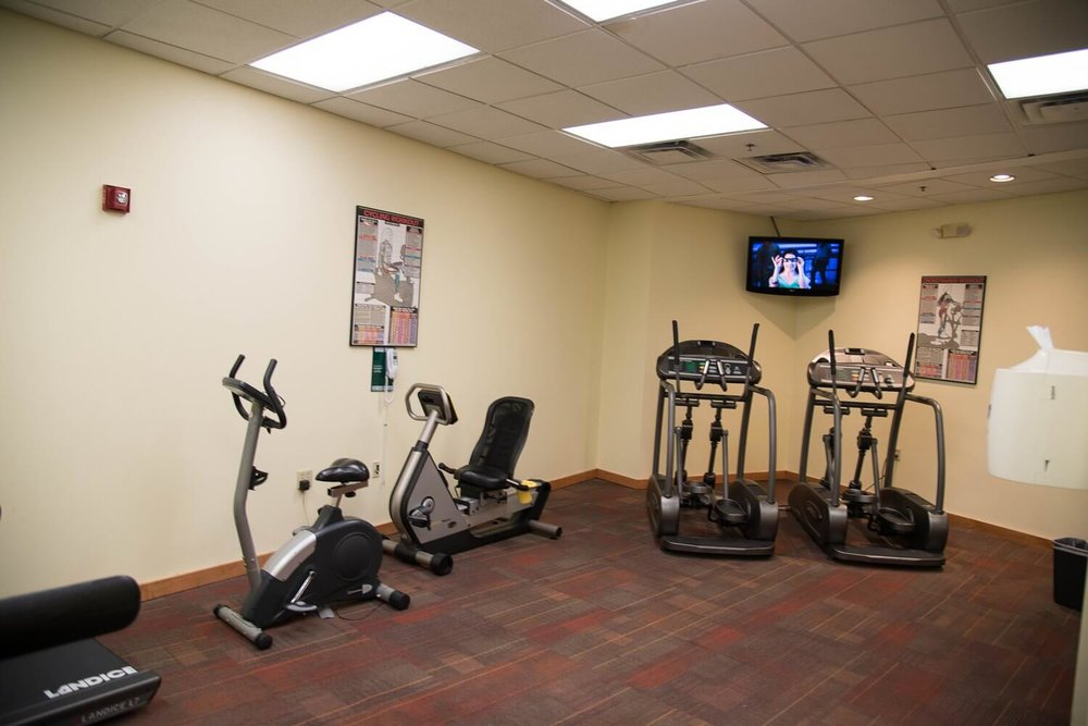Fitness center at Best Western Lake Buena Vista hotel