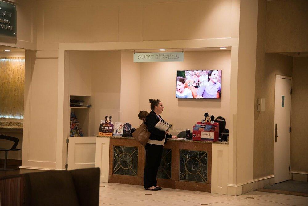 Lobby at Best Western - Disney Springs Resort Area