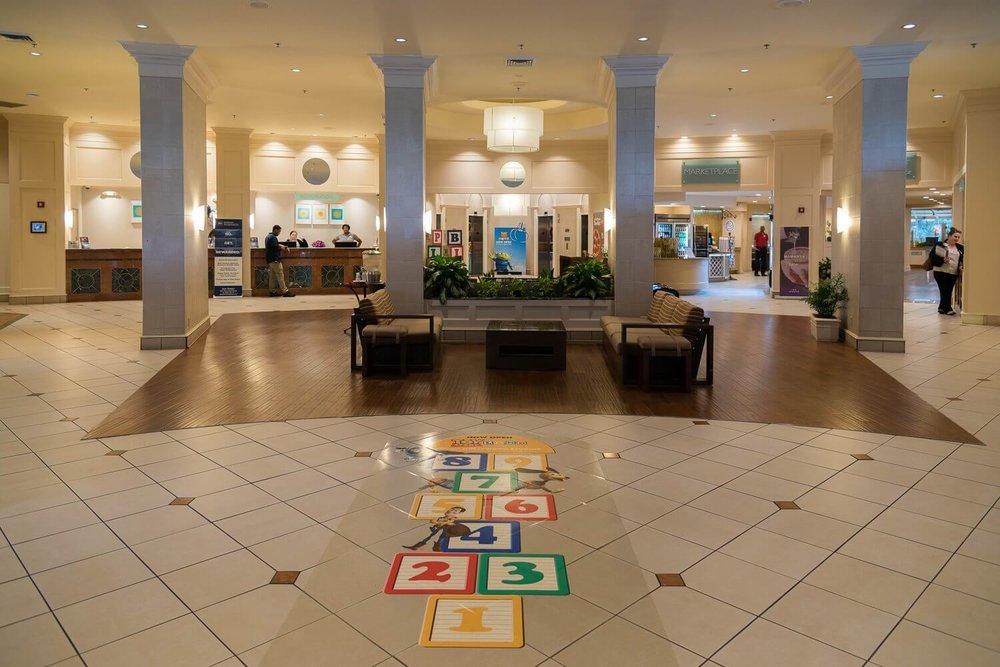 Lobby at the Best Western - Disney Springs