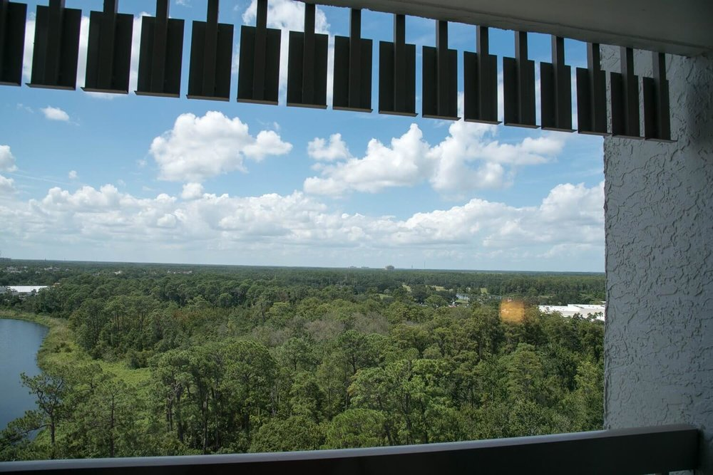 View from Best Western Lake Buena Vista