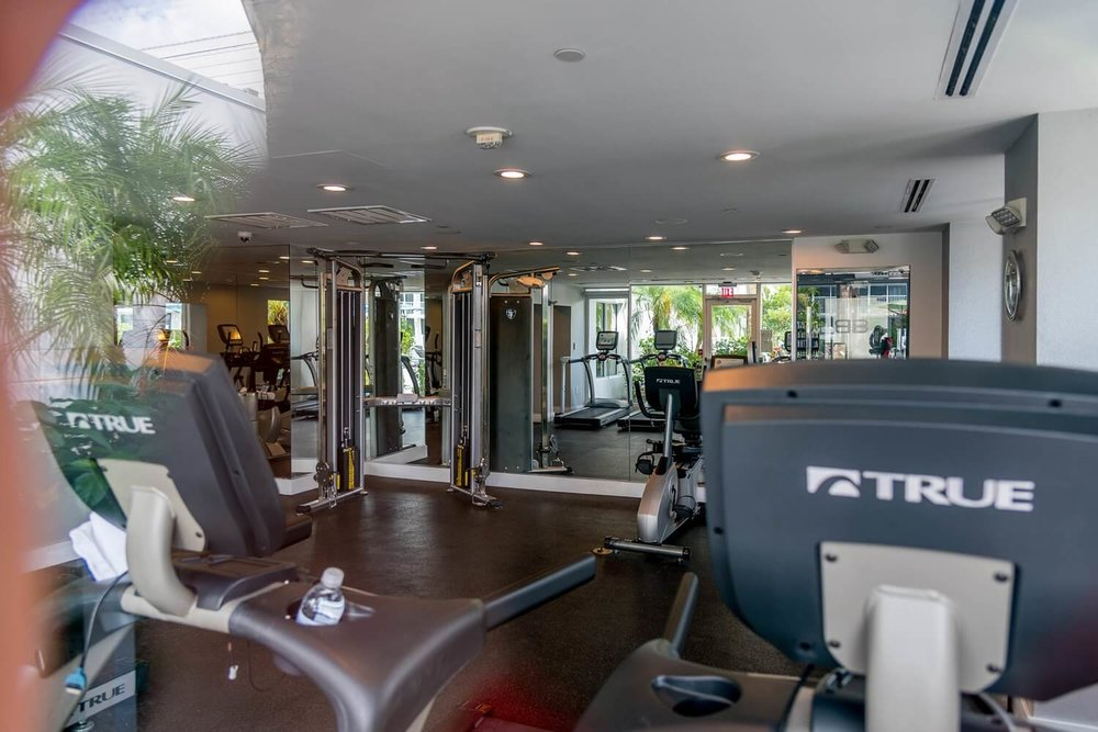 Fitness Center at B Resort and Spa