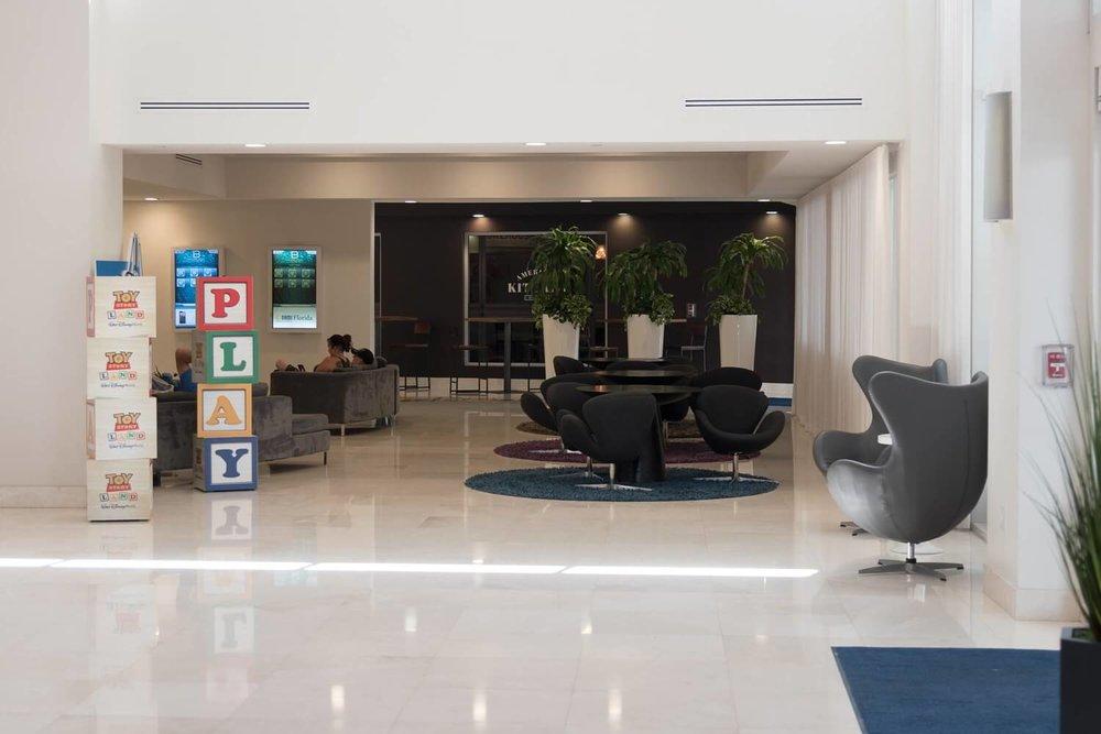 B Resort and Spa Lobby