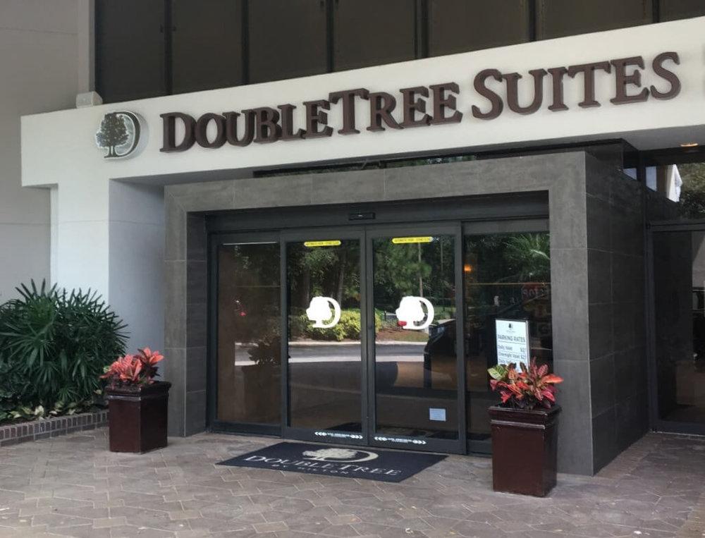 Entrance to DoubleTree Suites by Hilton Orlando - Disney Springs Resort Area
