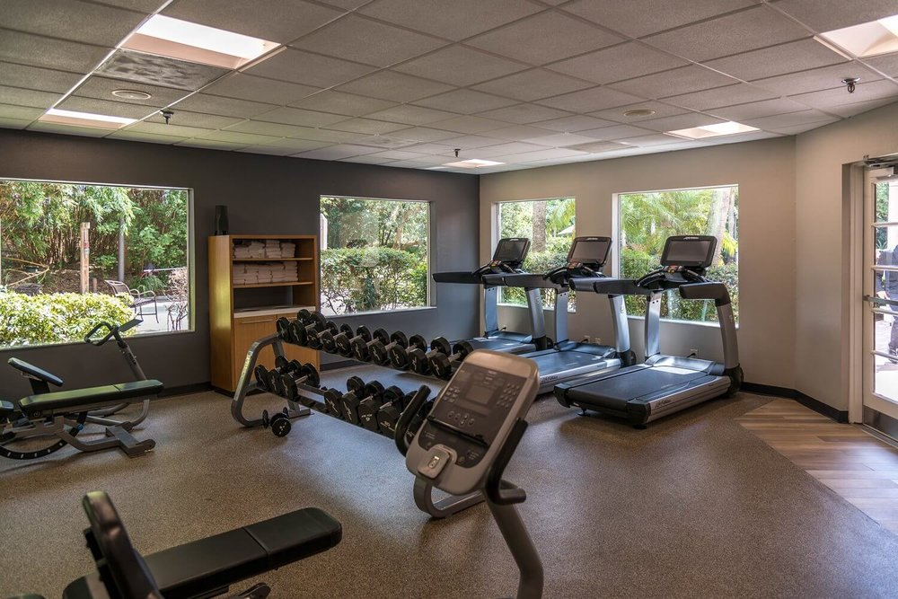 Fitness Center at DoubleTree Suites by Hilton Orlando - Disney Springs Resort Area
