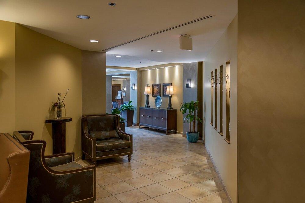 Lobby at DoubleTree Suites by Hilton Orlando - Disney Springs Resort Area