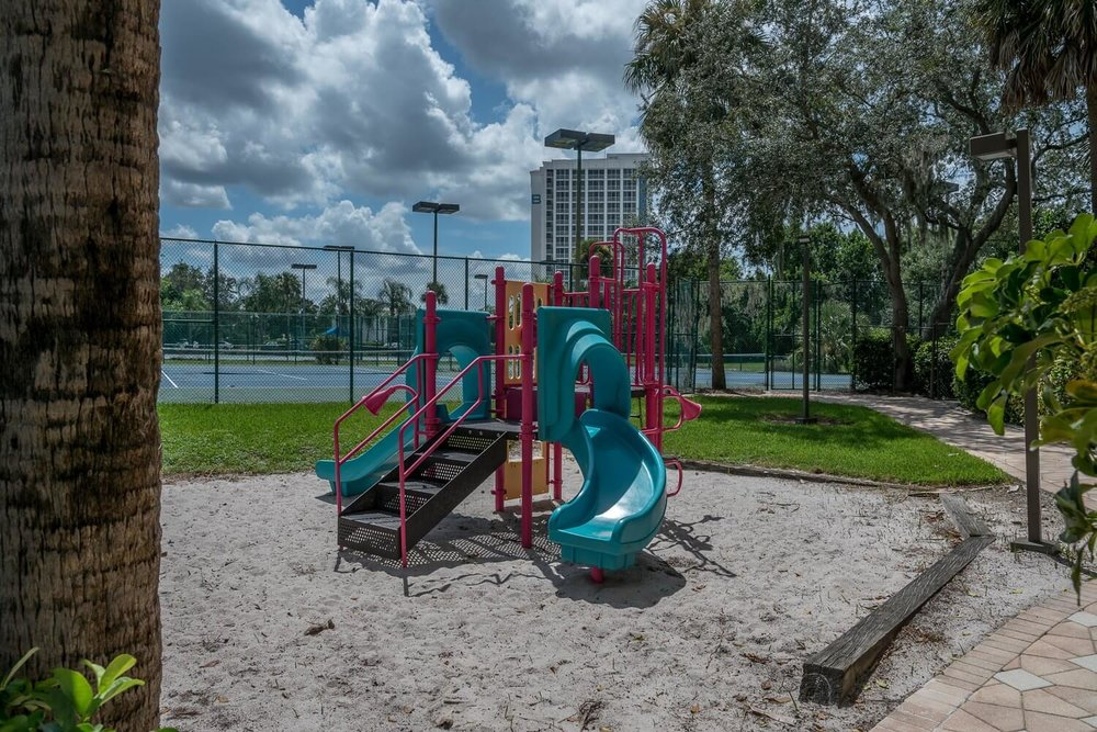 Children's Playground at DoubleTree Suites by Hilton Orlando - Disney Springs Resort Area