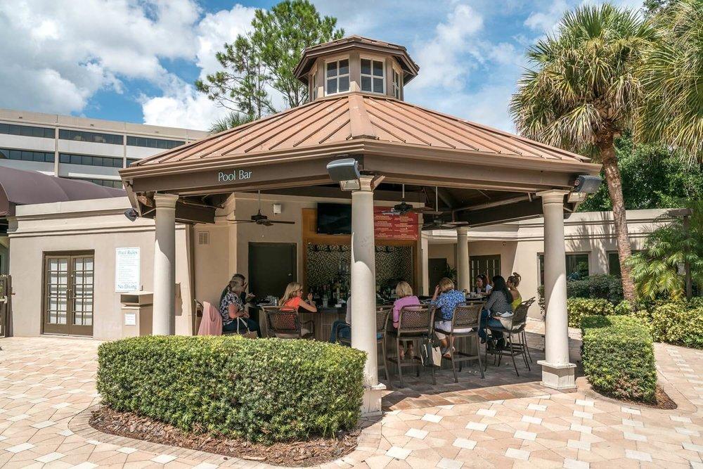 Pool bar at DoubleTree Suites by Hilton Orlando - Disney Springs Resort Area