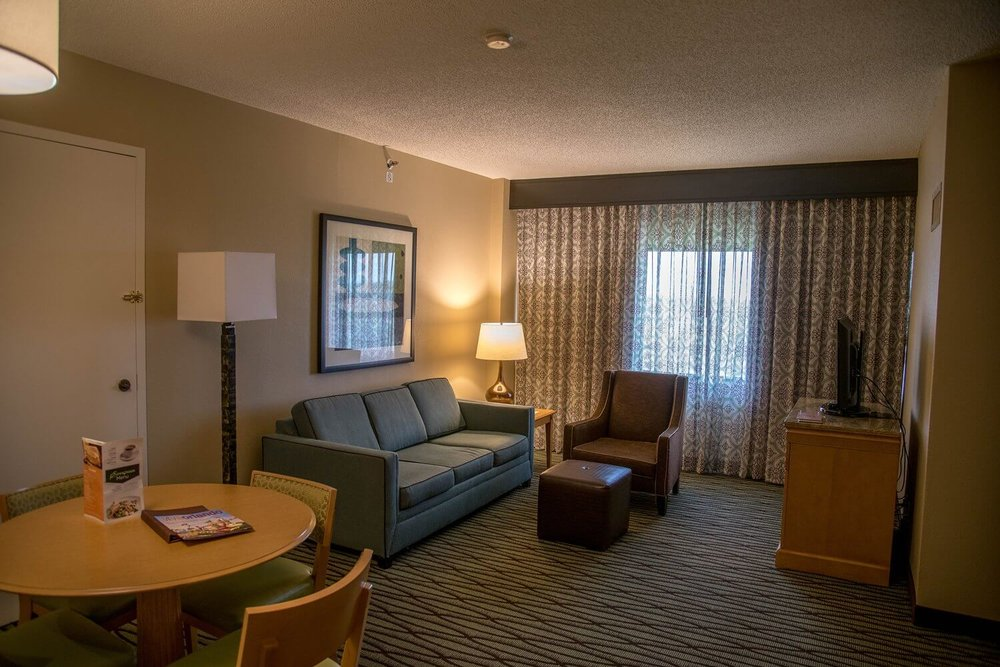 Living room at DoubleTree Suites by Hilton Orlando - Disney Springs Resort Area