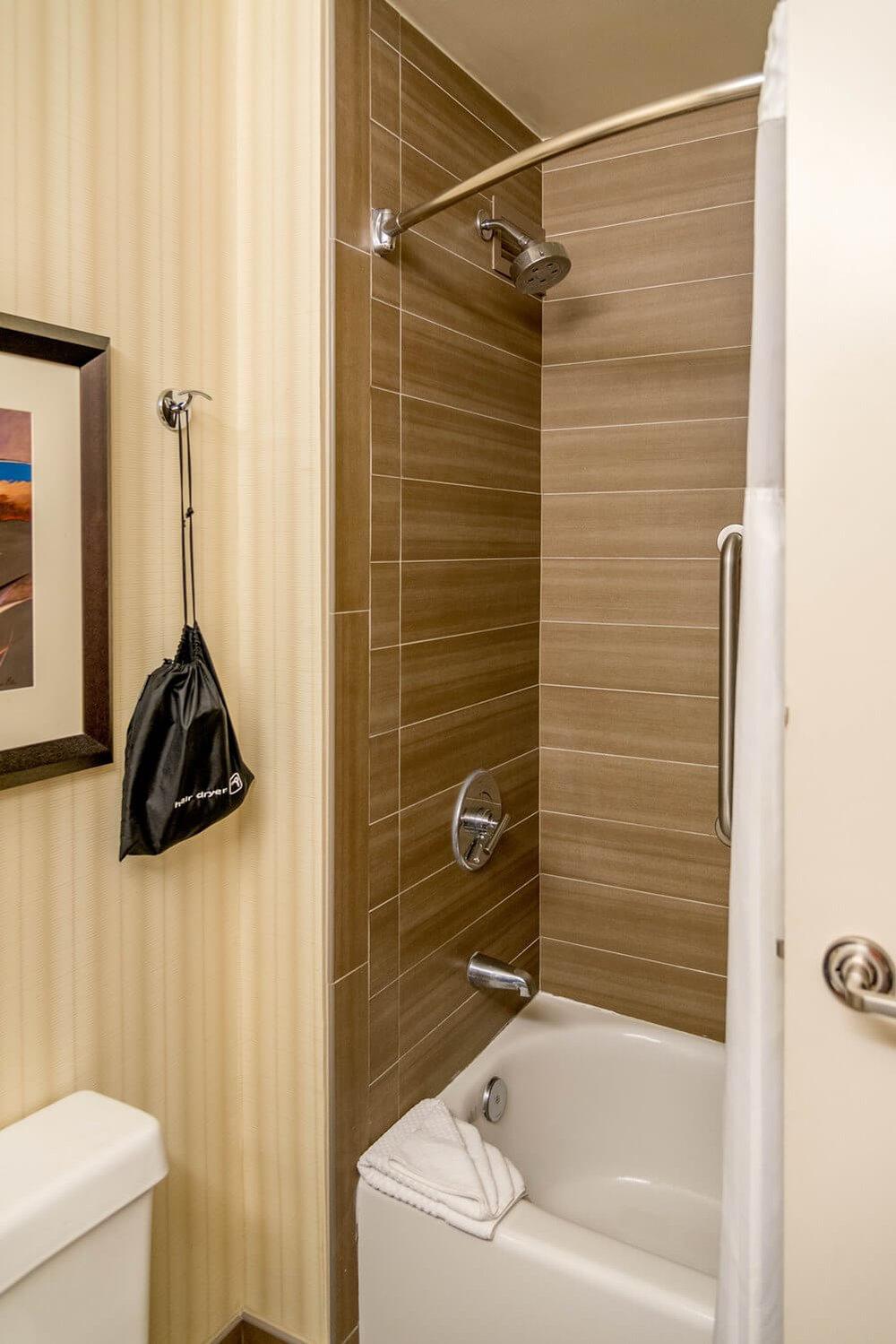 Bathtub/Shower at DoubleTree Suites by Hilton Orlando - Disney Springs Resort Area