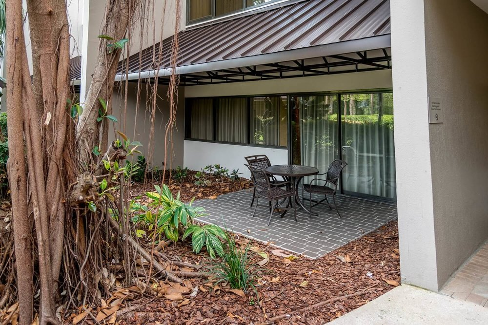 Patio suite at DoubleTree Suites by Hilton Orlando - Disney Springs Resort Area
