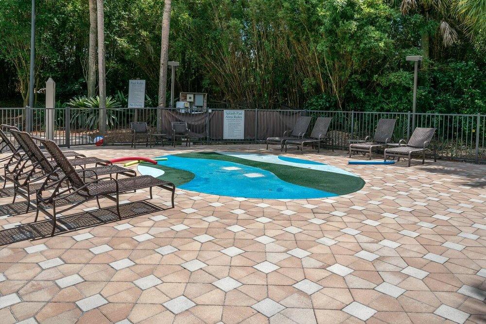 Splash pad at DoubleTree Suites by Hilton Orlando - Disney Springs Resort Area