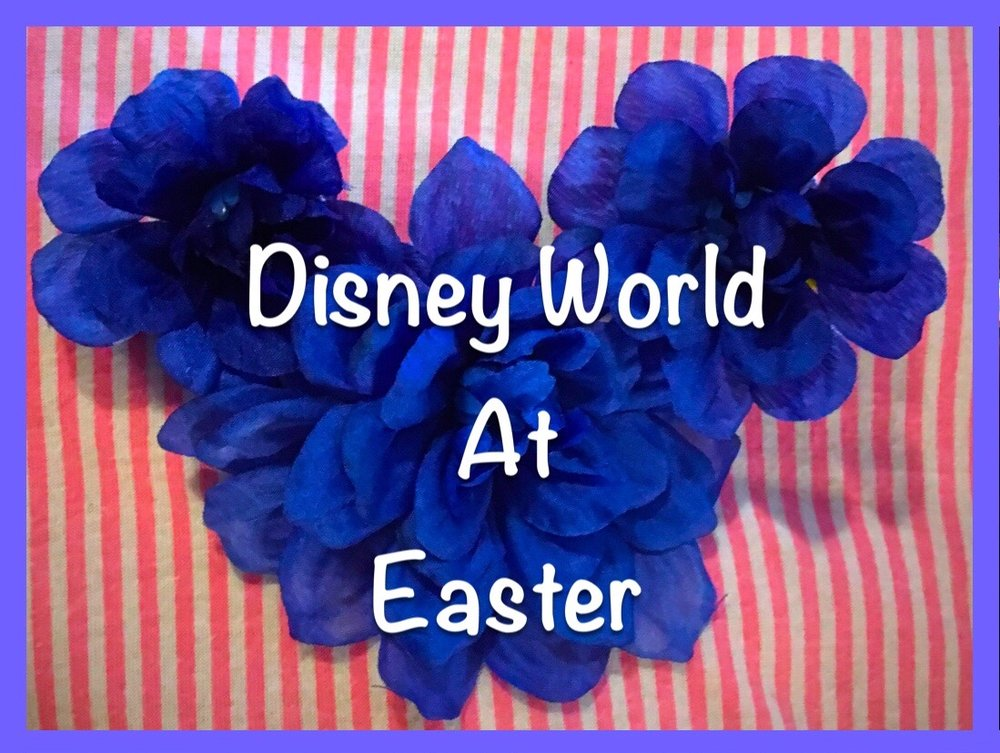 Easter events and activities at Disney World including church services, Easter Bunny and more.