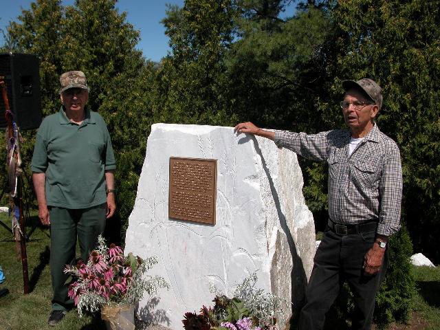 Elders Harold and Neil Perry
