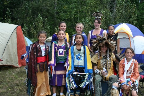 Youth at 2009 powwow