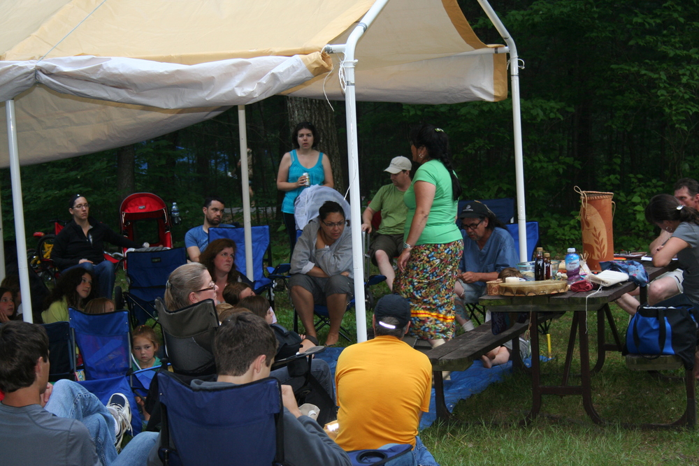 2012 Culture Camp at Mazinawgamig (Bon Echo Park)