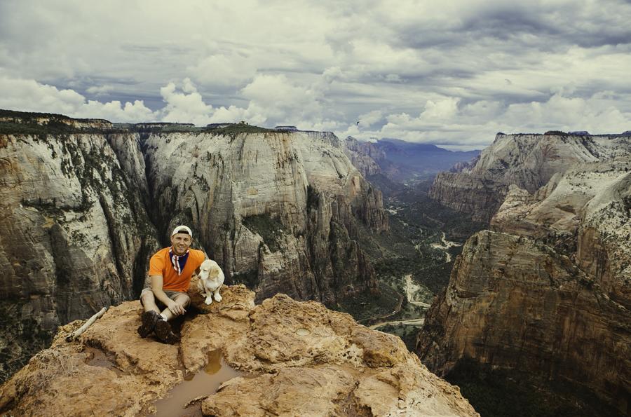 Observation Pt    Zion National Park    Sept 2013