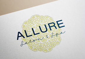 Allure Salon & Spa     I    Logo Rebrand      I    04.2015