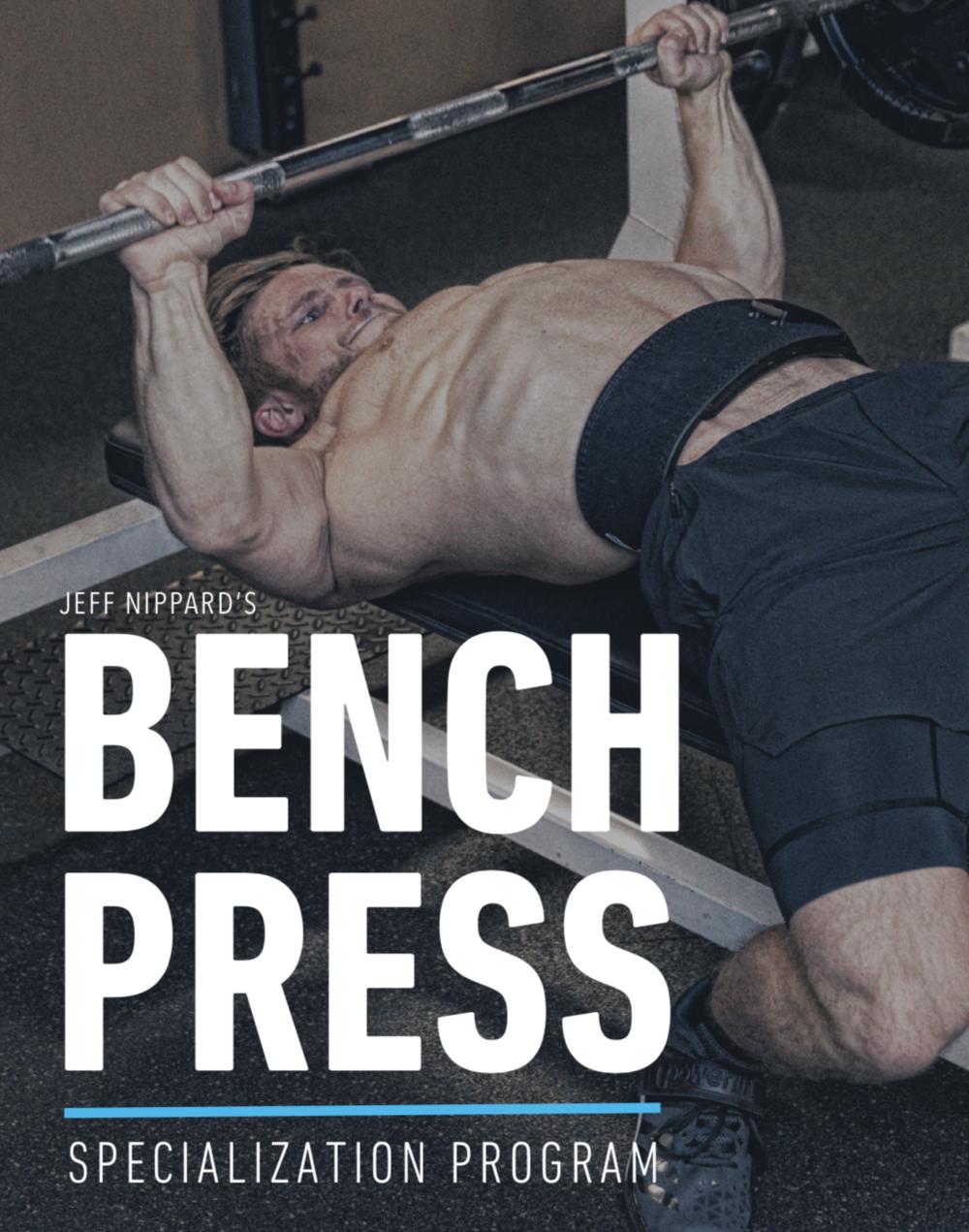 BENCH PRESS PROGRAM COVER