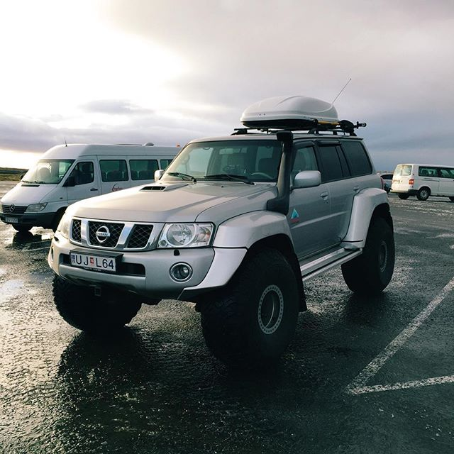 Surprisingly, this vehicle isn't overkill in Iceland.