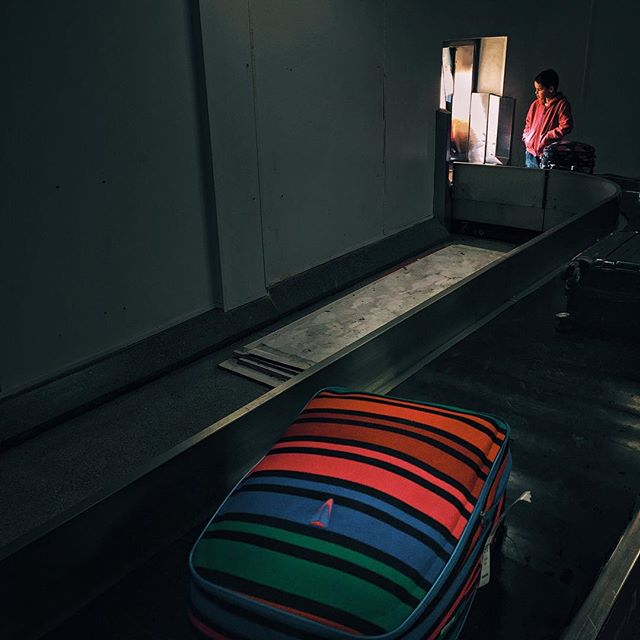 Carousel #arrivals #Belfast #luggage #carousel #boy #waiting #iphone #VSCOcam #vscogood