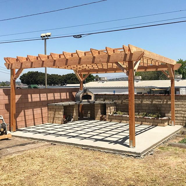 Sometimes I channel my younger self and frame things; joist walking skills have deteriorated. #dougfir #pergola #shade #venturacounty