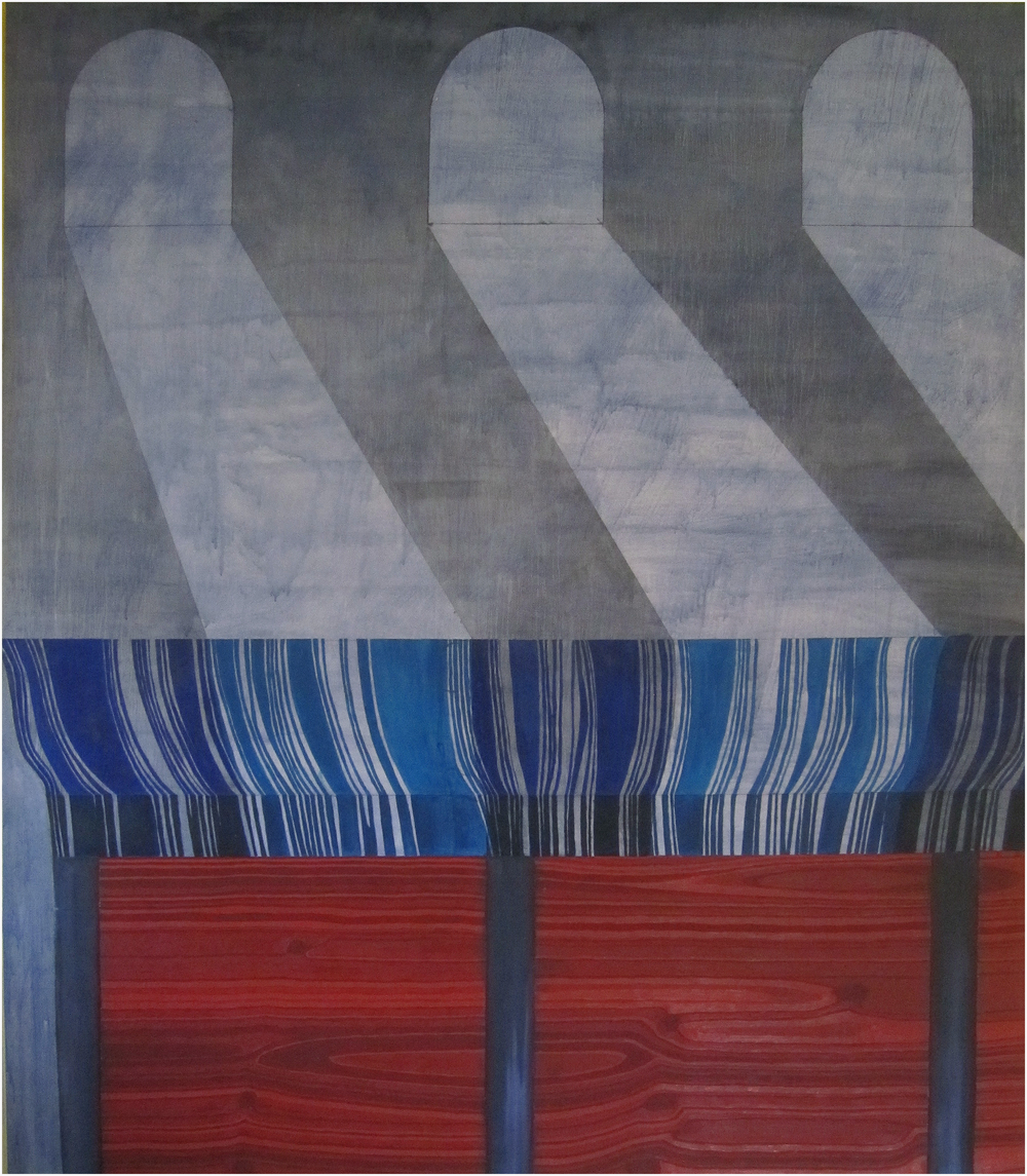 "Winchester Repeating Arms, 2011, oil on canvas, 60"" x 72"""