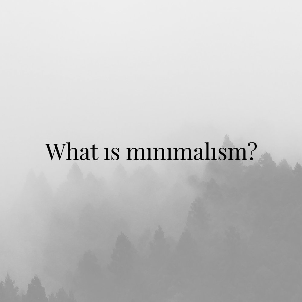 What Is Minimalism? - A series of articles addressing the common misconceptions,  benefits, applications and methods of living a minimalist life.