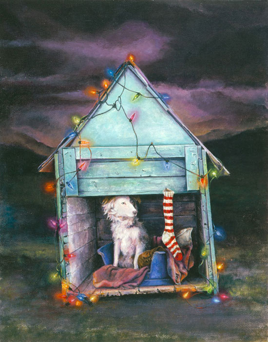 HOME FOR THE HOLIDAYS - original sold