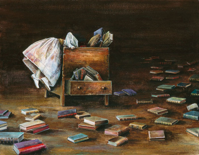 LOST IN LITERATURE - original sold