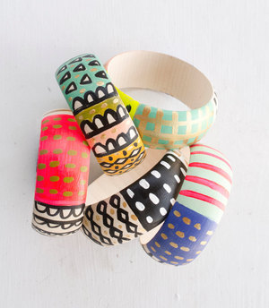 glass beads product colorful image stainless bangle bracelets bracelet detail steel new larger view design