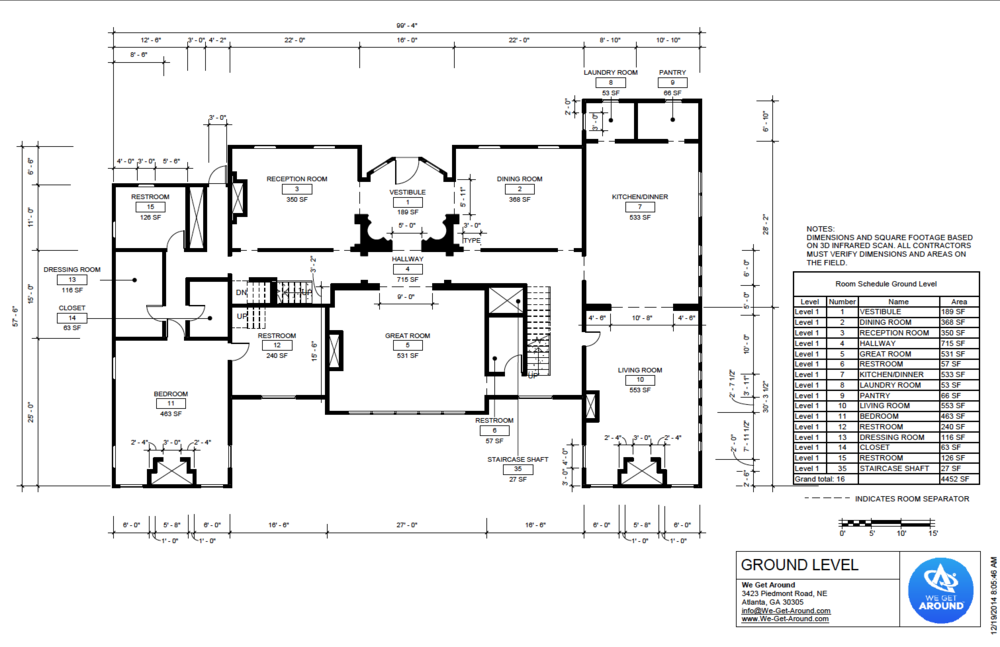 Floorme we get around for Floor plan drafting services