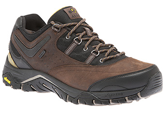 ABEO AEROsystem Hylan-Brown-Orange $159.95 + premium sole insert $34.95 | Image courtesy of The Walking Company
