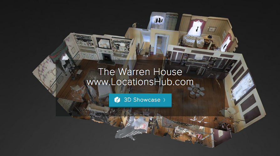 Screen Grab:   The Warren House in Clayton County, GA |    For the LocationsHub Production-Ready 3D (PR3D) for The Warren House, please  click here .