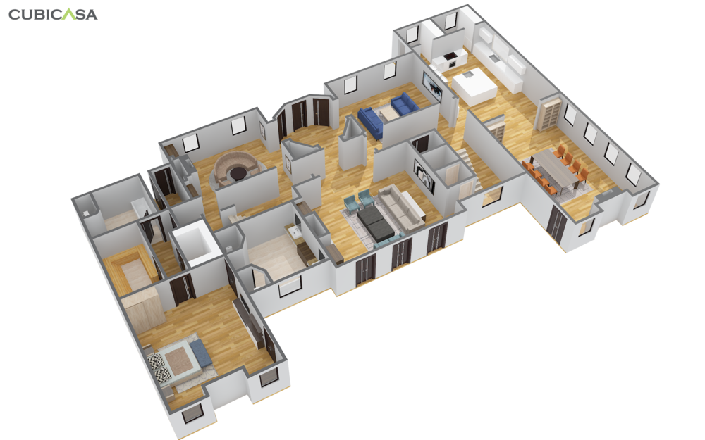CubiCasa 3D Premium Furnished Model created from a We Get Around WalkAround 3D Showcase Tour – powered by Matterport. Matterport 3D Showcase Tour by We Get Around Chief Photographer Dan Smigrod