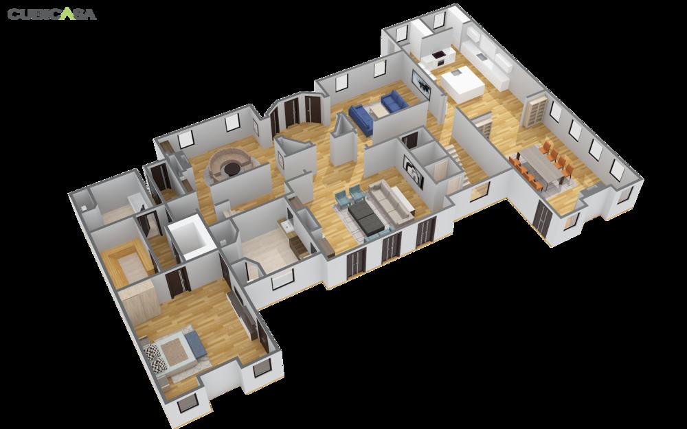 Cubicasa Creates 2d And 3d Floor Plans For Matterport