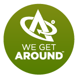 We Get Around Logo