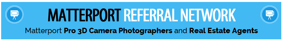 We Get Around Referral Network of Matterport Pro 3D Camera Photographers and Real Estate Agents-Banner