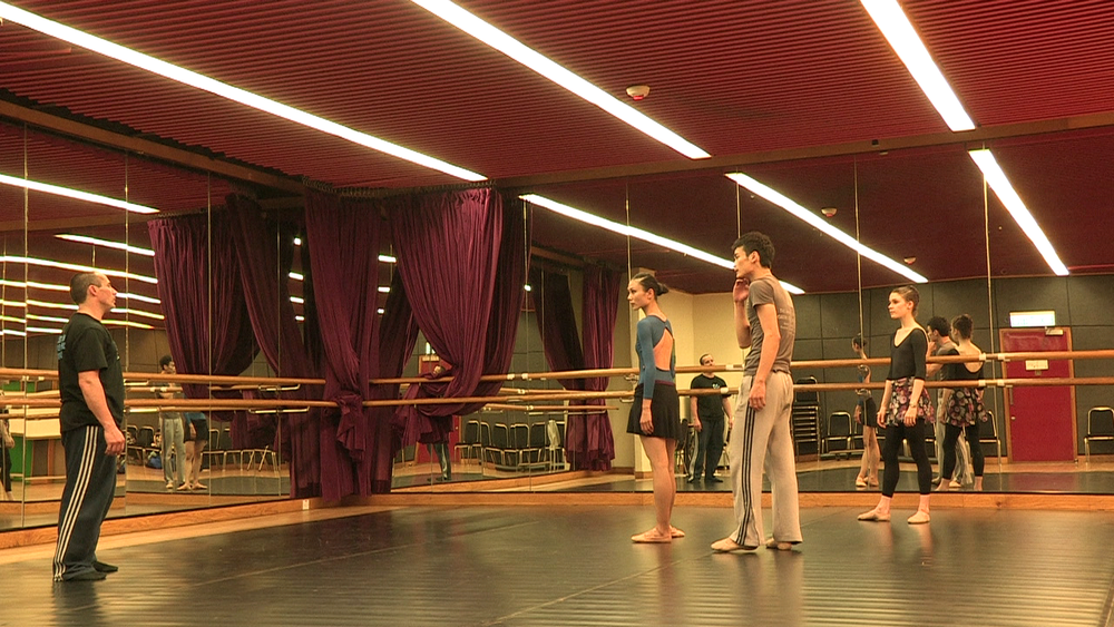 Tim Podesta with Dancers from The Hong Kong Ballet