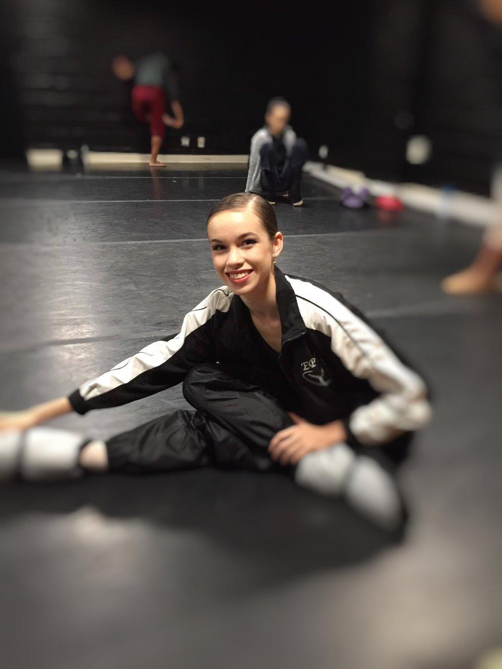 Projection Dance School Elite Performance Aspirant Amia Mason. Amia was a multiple scholarship recipient at the 2016 Youth American Grand Prix.