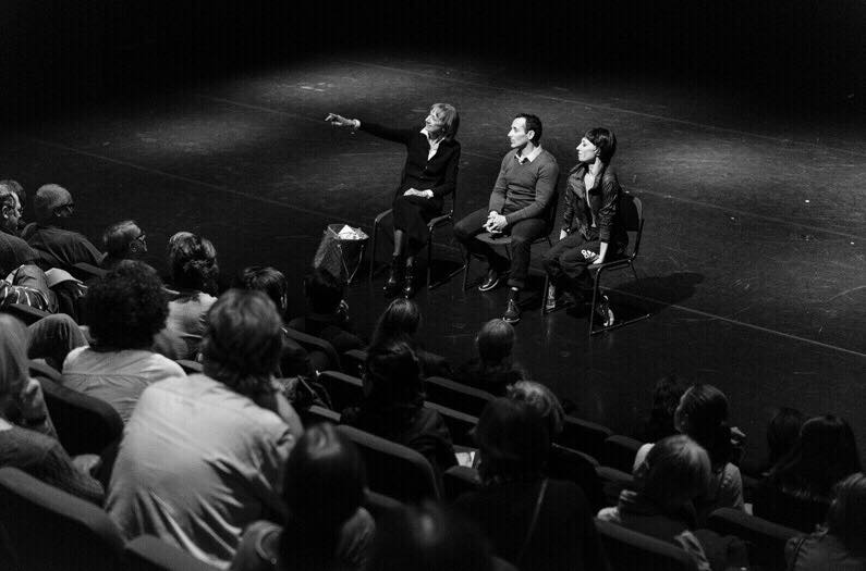 Mara Galeazzi, Tim Podesta & Susan Dalgetty Ezra in a post show Q&A for the London Ballet Circle at Sadlers Wells