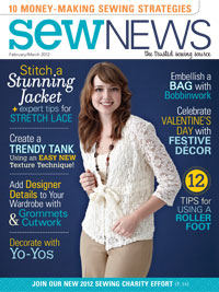 Christine Jonson Patterns Lace Jacket Sew News